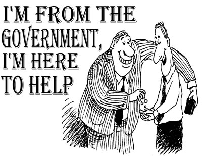 I'm from the government - I'm here to help