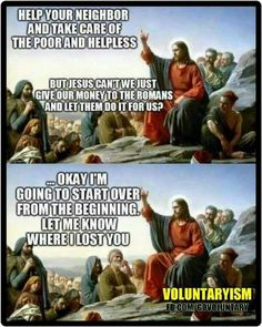 Jesus - help your neighbor