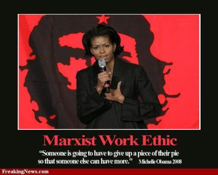 Obama, Michelle - Marxism Pie